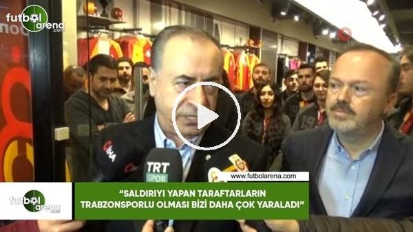 """'Mustafa Cengiz: """"Saldırıyı yapan taraftarların Trabzonsporlu olması bizi daha çok yaraladı"""""""