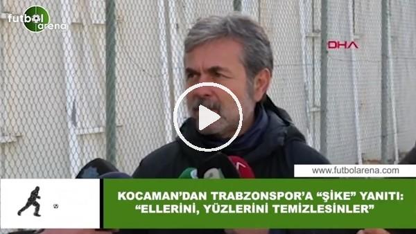 """'Aykut Kocaman'dan Trabzonspor'a """"Şike"""" yanıtı: """"Ellerini, yüzlerini temizlesinler"""""""