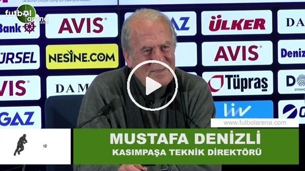 'Mustafa Denizli, Fenerbahçe maçında neden duygulandığını anlattı
