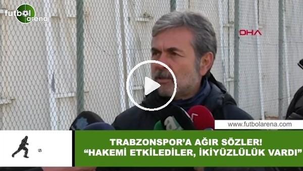 """'Aykut Kocaman'dan Trabzonspor'a ağır sözler! """"Hakemi etkilediler, ikiyüzlülük yaptılar"""""""