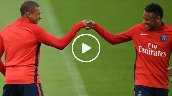 'Neymar'dan Mbappe'ye sulu şaka