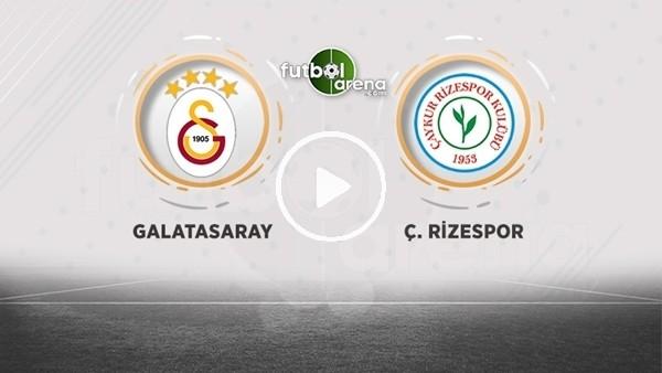 'FutbolArena TV'de Galatasaray - Çaykur Rizespor maçı sonrası değerlendirmeler