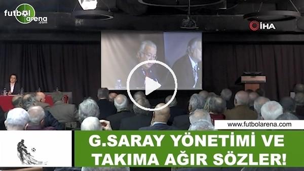 'Eşref Hamamcıoğlu'dan Galatasaray yönetimi ve takıma ağır sözler