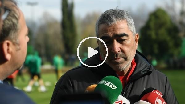 """'Samet Aybaba: """"Göztepe maçından 3 puan almak istiyoruz"""""""