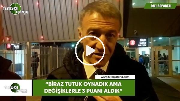 'Ahmet Ağaoğlu, FutbolArena^ya konuştu