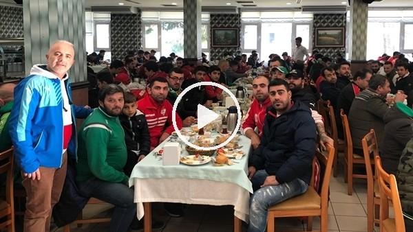 'Bursaspor ve Antalyaspor taraftarlarından dostluk mesajı