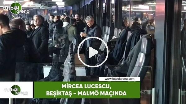'Mircea Lucescu, Beşiktaş - Malmö maçında