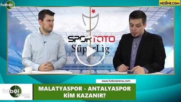 'Yeni Malatyaspor - Antalyaspor maçını kim kazanır?
