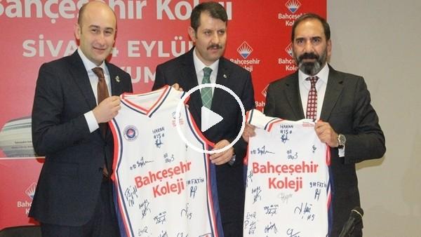 'Bahçeşehir Koleji, Sivasspor Stadı'na adını verdi