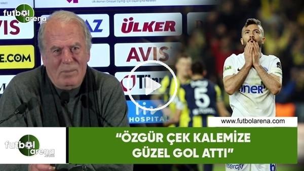"""'Mustfa Denizli: """"Özgür Çek kalemize güzel gol attı"""""""