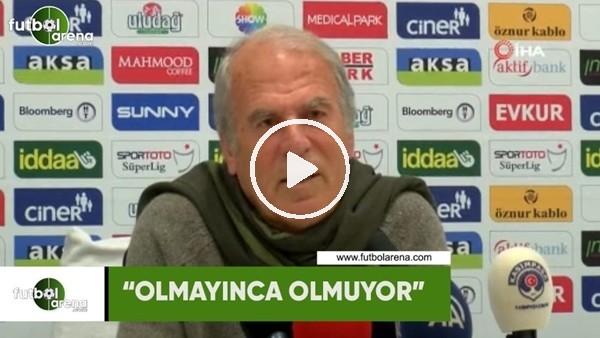 """'Mustafa Denizli: """"Olmayınca olmuyor"""""""