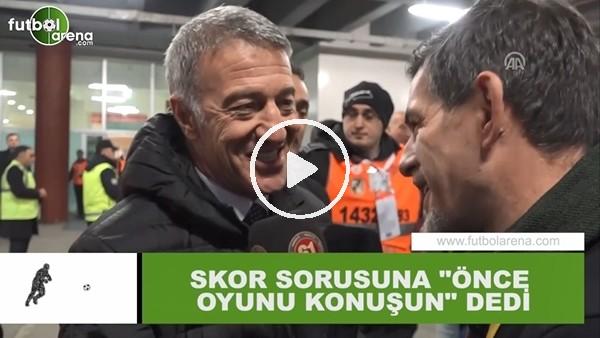 """'Ahmet Ağaoğlu'ndan skor sorusuna: """"Önce oyunu konuşun"""""""