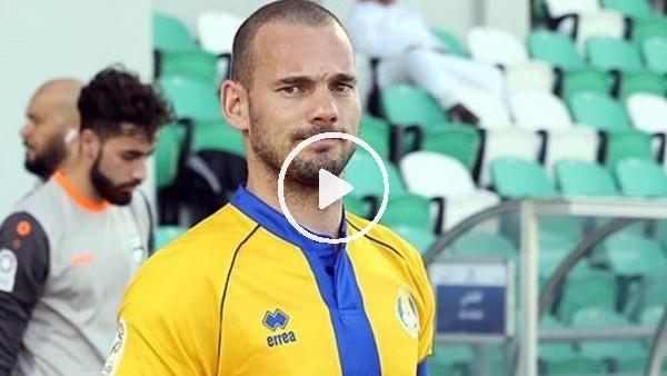'Sneijder'den Galatasaray taraftarını heyecanlandıran açıklama