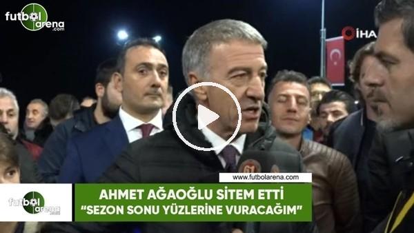 """Ahmet Ağaoğlu isyan etti! """"Mesajlar telefonumda duruyor, sezon sonu yüzlerine vuracağım"""""""