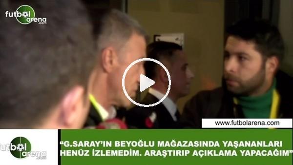 'Ahmet Ağaoğlu'ndan GS Store için açıklama