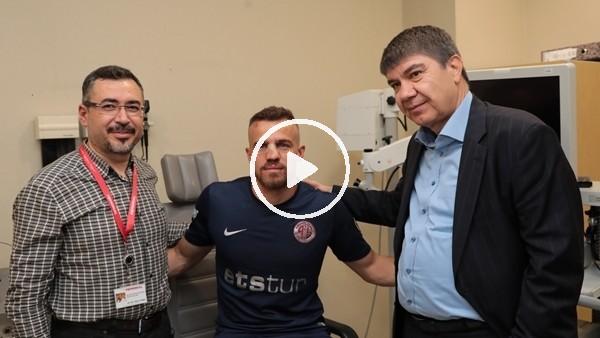 'Antalyasporlu Chico'nun burnu kırıldı