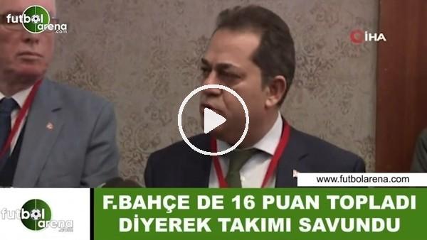 'Halil Ünal, Fenerbahçe de 16 puan topladı diyerek Eskişehirspor'u savundu