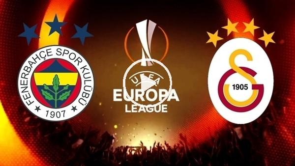 'Fenerbahçe ve Galatasaray'ın rakipleri belli oldu