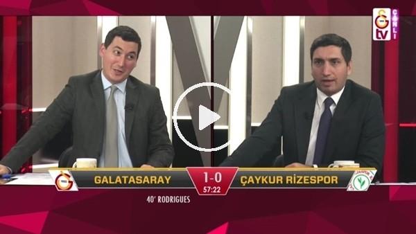 'Eren Derdiyok'un golünde GS TV spikerleri