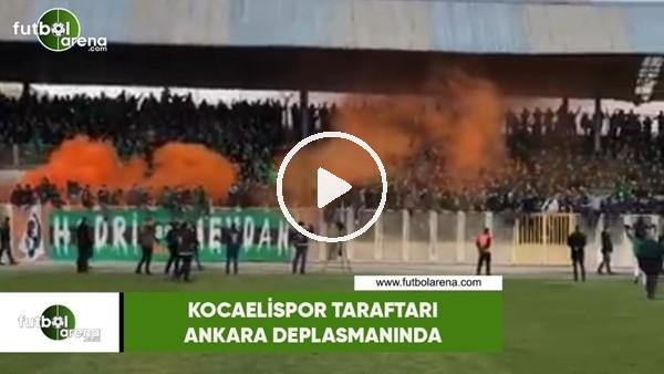 'Kocaelispor taraftarı Ankara deplasmanında