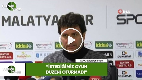 """'Cihat Arslan: """"İstediğimiz oyun düzeni oturmadı"""""""