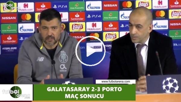 """'Sergio Conceiçao: """"Oyuncularım görevlerini yerine getirdi"""""""