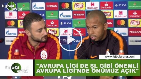 """'Mariano: """"Avrupa Ligi de Şampiyonlar Ligi gibi önemli, Avrupa Ligi'nde önümüz açık"""""""