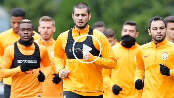 'Galatasaray, Porto maçı öncesi son idmanını yaptı