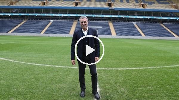 'Ersun Yanal, Şükrü Saracoğlu Stadı'nda! İşte ilk görüntüler...