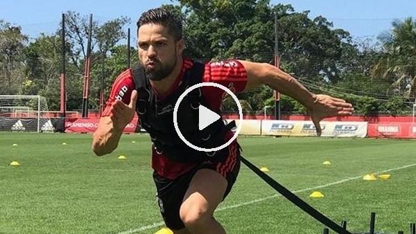 Diego Ribas sıkı çalışıyor
