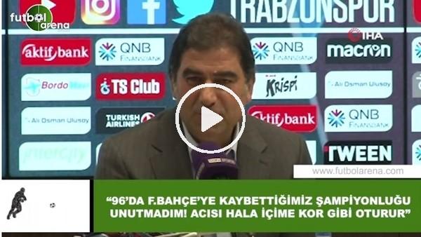 """Ünal Karaman: """"96'da Fenerbahçe'ye kaybettiğimiz şampiyonluğu unutmadım! Acısı hala kor gibi oturur"""""""