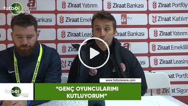 """Bülent Korkmaz: """"Genç oyuncularımı kutluyorum"""""""