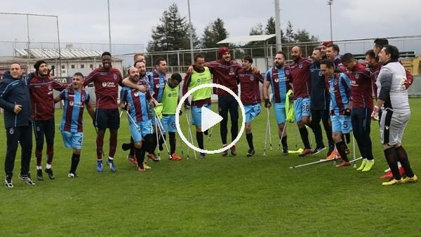 'Trabzonspor'dan anlamlı maç