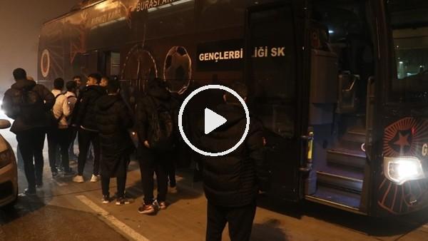 'Gençlerbirliği kafilesi Ankara'ya otobüsle döndü