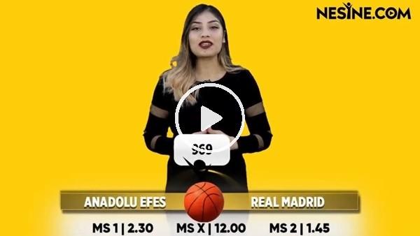 Anadolu Efes - Real Madrid maçı Nesine'de! TIKLA & OYNA