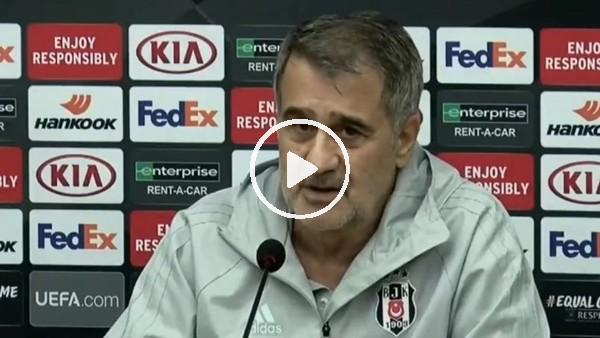 """'Şenol Güneş: """"UEFA Ligi önemsenmiyor"""""""