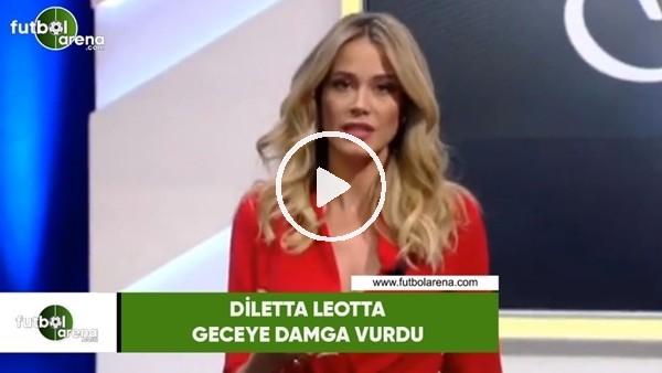 Diletta Leotta geceye damga vurdu