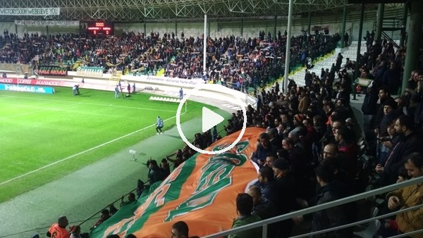 'Aytemiz Alanyaspor - Beşitkaş maçı öncesi tribünler