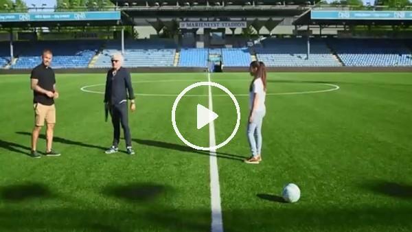 Lisa Zimouche, Norveçli futbolcuları pişman etti