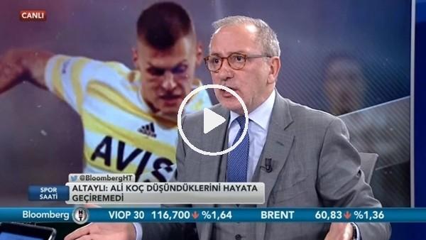 """'Fatih Altaylı'dan Ersun Yanal'a eleştiri! """"'Boş laf...."""""""