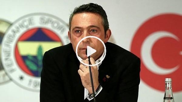 """'Ali Koç'a canlı yayında şok sözler! """"Derhal istifa etmeli...."""""""