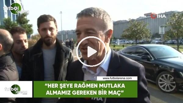 """'Ahmet Ağaoğlu: """"Her şeye rağmen mutlaka almamız gereken bir maç"""""""