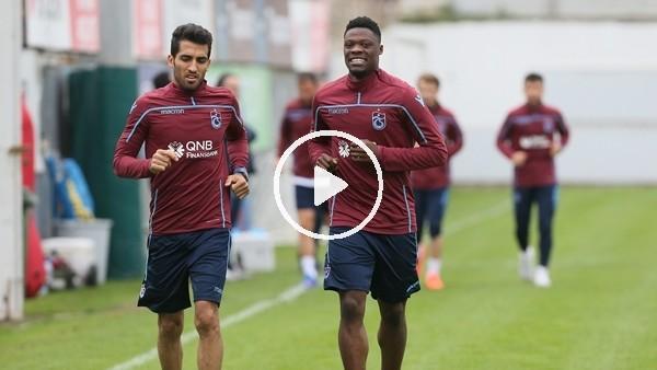 'Trabzonspor, Konyaspor maçının hazırlıklarına 7 eksikle başladı