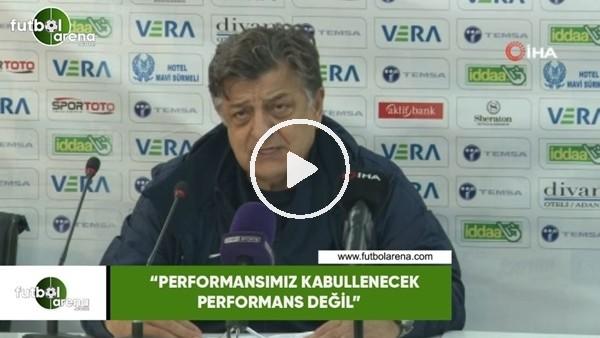 """'Yılmaz Vural: """"Performansımız kabullenecek performans değil"""""""