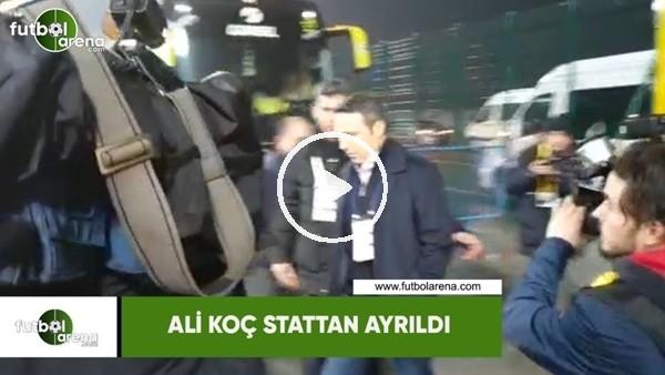 'Ali Koç stattan ayrıldı