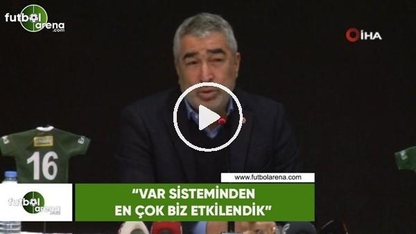"""'Samet Aybaba: """"VAR sisteminden en çok biz etikendik"""""""