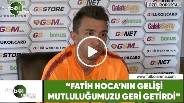 """Fernando Muslera: """"Fatih Hoca'nın gelişi mutluluğumuzu geri getirdi"""""""