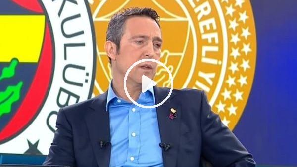 "Ali Koç: ""Fenerbahçe'yi siyasete alet etmem"""