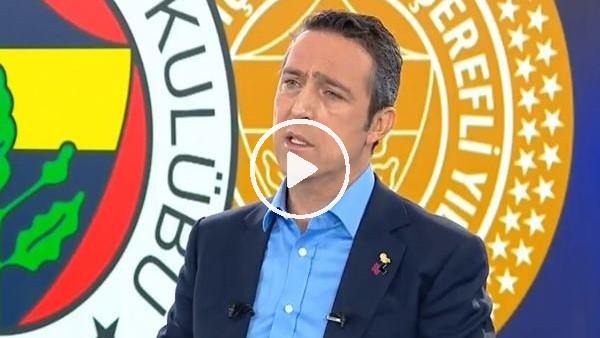 """'Ali Koç: """"Futbolda özetle başarısız olduk"""""""