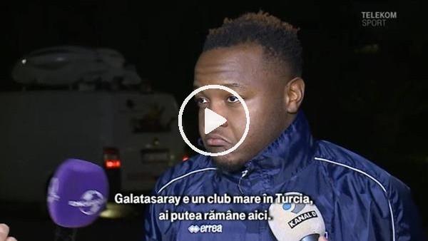 'Galatasaray'ın istediği  Ongenda'dan transfer açıklaması